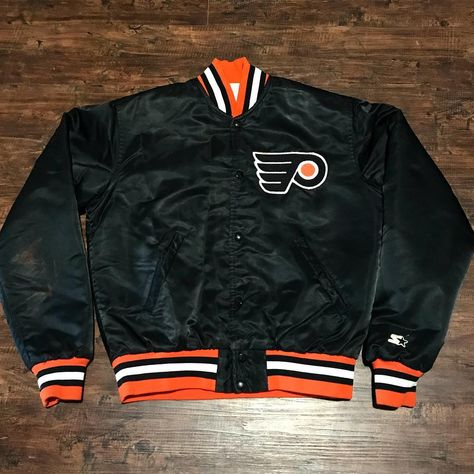 jacket 90s NHL Philadelphia Flyers...