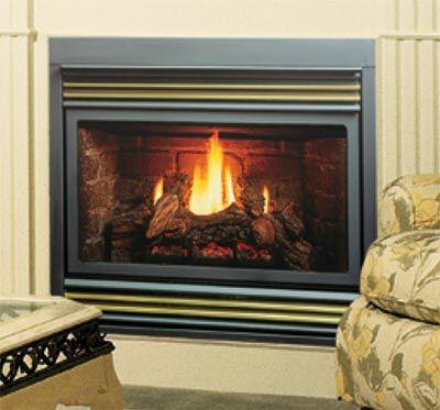 Home Fireplaces Gas Fireplaces Kingsman B Vent Gas Fireplace Millivolt Propane Zv3600lp Vented Gas Fireplace Gas Fireplace Fireplace