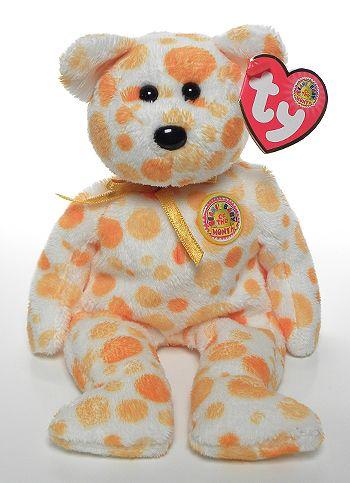 TY Beanie Baby ALANI the Bear 8 inch - MWMT/'s BBOM July 2004