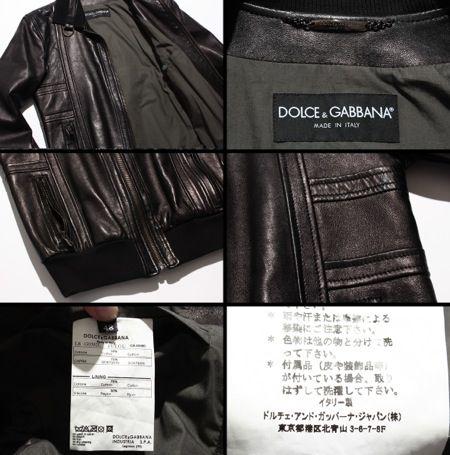 3f6085644 Rakuten: Dolce & Gabbana leather jackets leather Jean goat goat ...