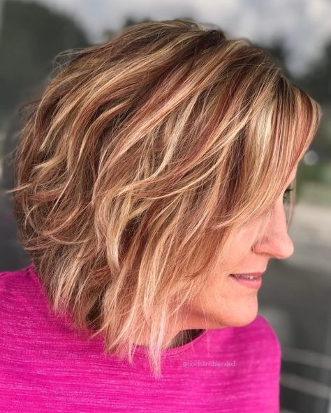 Blonde Highlights Discover 19 Best Red and Blonde Hair Color Ideas of 2020 Short Blonde Hair with Red Highlights Red Hair With Blonde Highlights, Short Red Hair, Brown Blonde Hair, Short Blonde, Blonde Balayage, Blonde Hair Red Lowlights, Black Hair, Chunky Highlights, Caramel Highlights