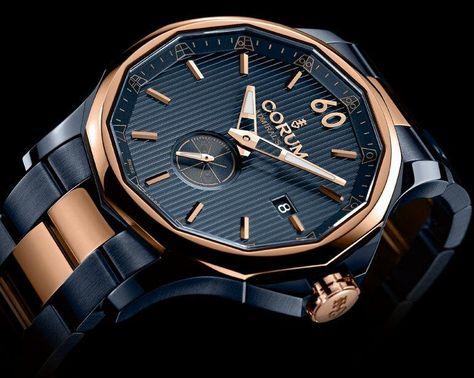 Corum - Admiral's Cup Legend 42 Gunmetal #luxurywatch #Corum-swiss Corum Swiss Watchmakers watches #horlogerie @calibrelondon