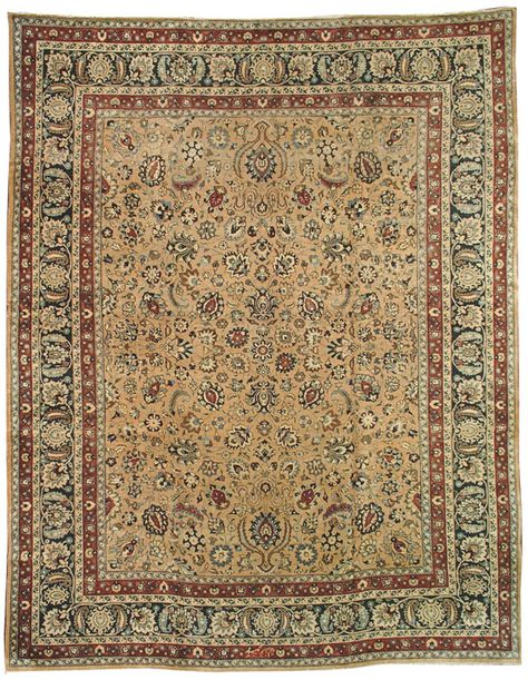 A Mashad Carpet No 11798 10ft 1in X 12ft 10in Rugs On Carpet Antique Persian Rug Antique Persian Carpet