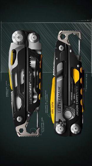 ~NEW~ Leatherman Signal Survival Multi-Tool Black w// Nylon Sheath