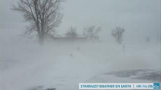 A Sudden Blizzard of Lake Effect Snow
