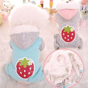 Mko Love U Mko Big Strawberry Four Legged Double Decked Cotton