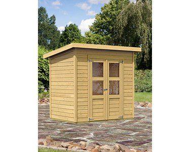 Woodfeeling Holz Gartenhaus Neuenburg 1 Natur 208 Cm X 150 Cm Kaufen Bei Obi Karibu Gartenhaus Gartenhaus Haus