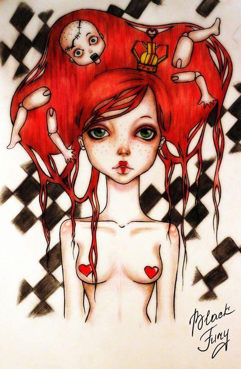 The Red by ~BlackFurya on deviantART