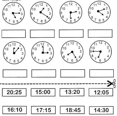 Rosearts Atividades Para Imprimir Atividades Com Horas Relogio