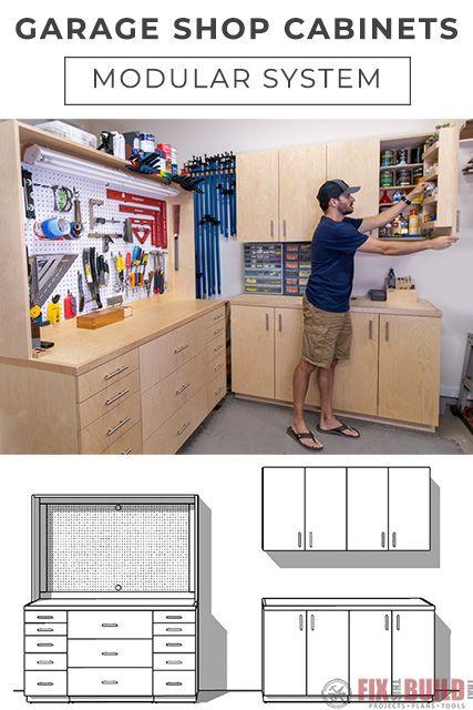 5 Diy Garage Cabinets Storage