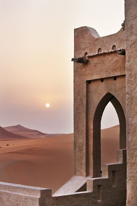 Qasr Al Sarab Desert Resort by Anantara, Abu Dhabi, United Arab Emirates Wrath And The Dawn, Desert Resort, Islamic Architecture, Architecture Board, Arabian Nights, Abu Dhabi, Middle East, Beautiful Places, Beautiful Gifts