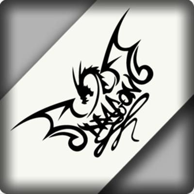 Details About M Dragon Totem Vinyl Car Motocross Bike Decal - Bike graphics stickers imagesstickers on bike sticker creations