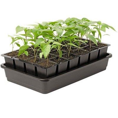 Growease Self Watering Seed Starting Kit 24 Cells Gardener S