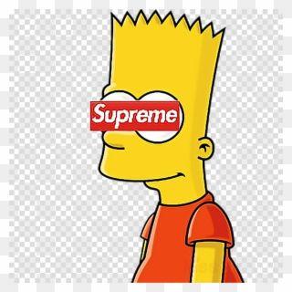 Bart Clipart Uihere Supreme Bart Simpson Drawings Png Download Bart Simpson Drawing Bart Simpson Art Simpsons Drawings