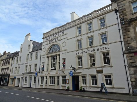 Salutation Hotel, Perth | Scottish Buildings | Perth, House styles