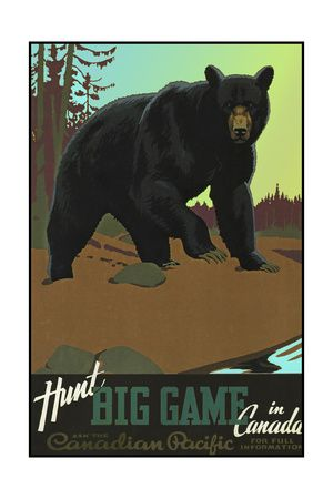 Canadian Travel Ads (Vintage Art) Posters - AllPosters.ca