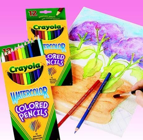 Crayola Watercolor Colored Pencils Crayola Colored Pencils