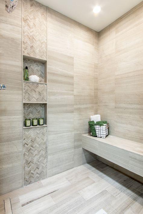 Pin By Gihani Chathurika On G Bathroom Tile Designs Tile Walk In Shower Master Bathroom Shower