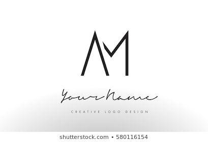 Letters Logo Design Slim Simple Creative Stock Vector Royalty