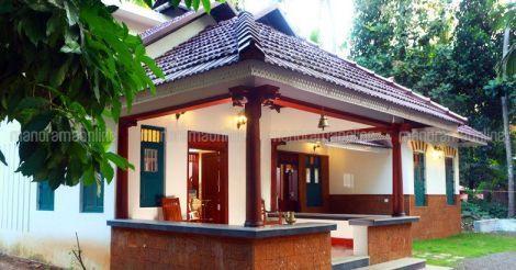Pin By Anita V On Kerala Style Homes House Plans Farmhouse Village House Design Kerala House Design