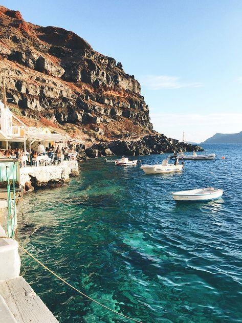 Travel diary: greece honeymoon to santorini & athens livvyland. Greece Honeymoon, Beautiful Places To Travel, Romantic Travel, Romantic Vacations, Voyage Europe, Travel Aesthetic, Adventure Aesthetic, Beach Aesthetic, Future Travel