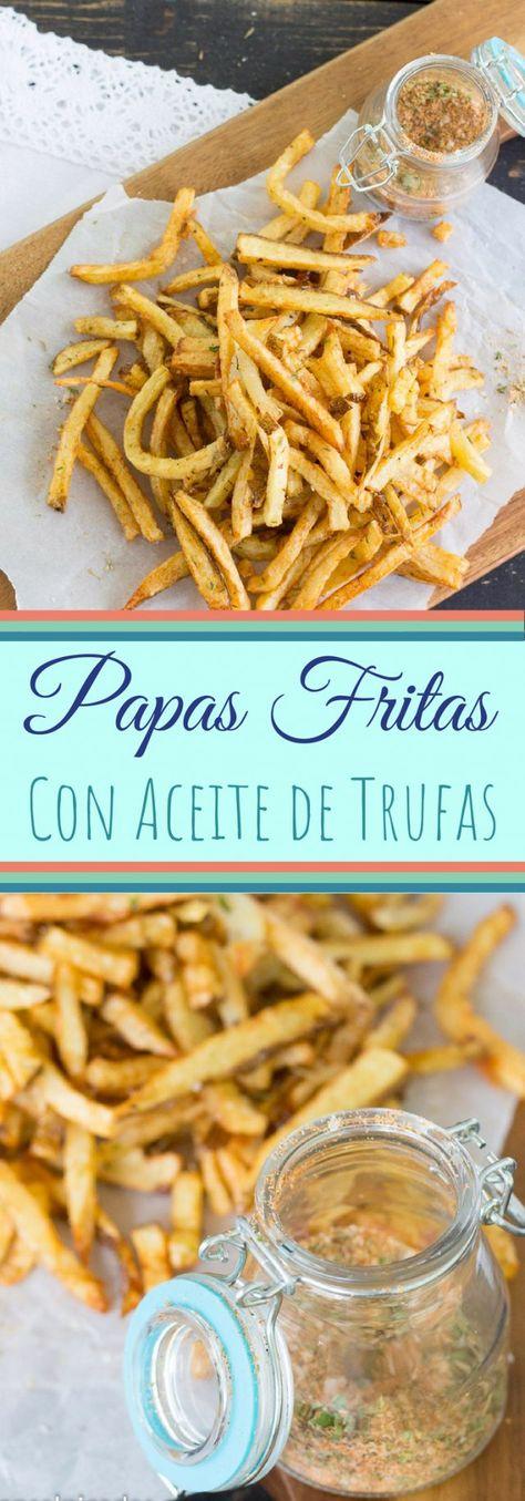 Pin En Papas Fritas Trufa