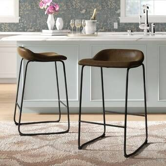 Pin By Hannah Nguyen On Apartment Design In 2021 Bar Stools Comfortable Bar Stools Stools For Kitchen Island