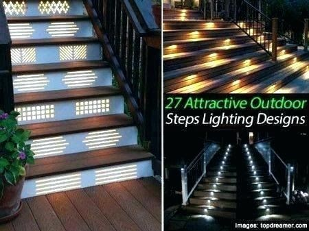 Cool Led Stair Lighting Ideas In 2020 Step Lighting Outdoor