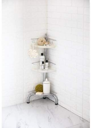 Pin By Nicole Pietrantonio Family C On To Purchase In 2020 Corner Shower Caddy Adjustable Shelving Corner Shower