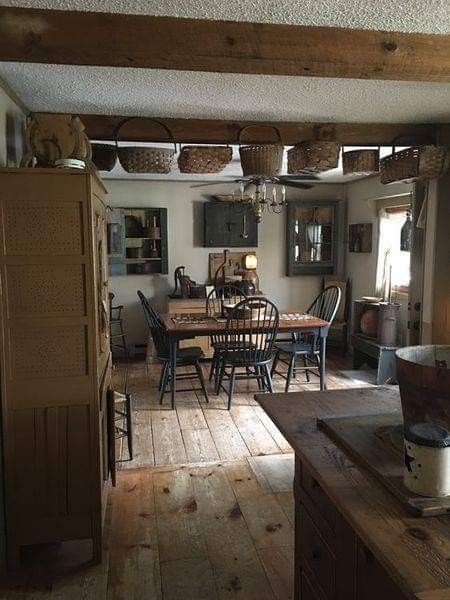 Country Kitchen Decor, Country Primitive Kitchen Furniture