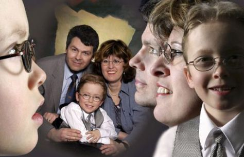 The many faces of the Gilchrest family.