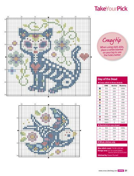 Great Photographs Cross Stitch animals Ideas Due to the fact I've been combin. - Great Photographs Cross Stitch animals Ideas Due to the fact I've been combination stitches due - Cross Stitch Skull, Cross Stitch Tattoo, Small Cross Stitch, Cross Stitch Borders, Cross Stitch Samplers, Cross Stitch Animals, Cross Stitch Flowers, Counted Cross Stitch Patterns, Cross Stitch Designs