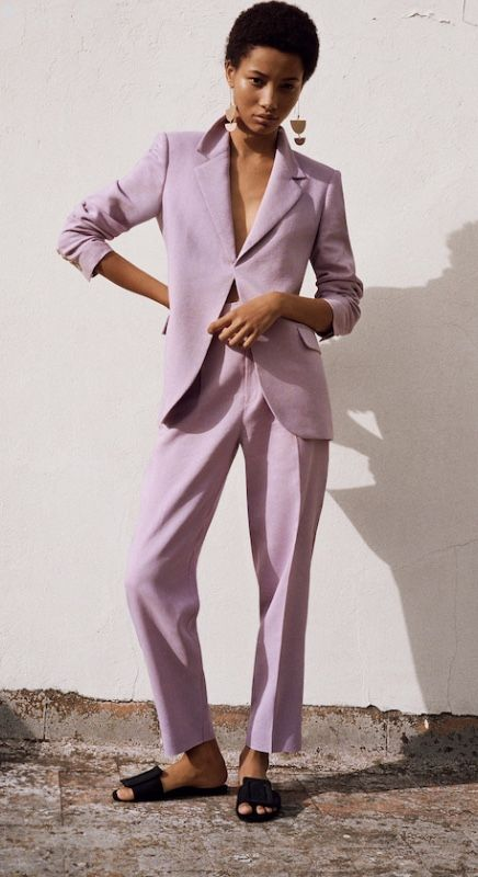 Womens Girls Pant Suit