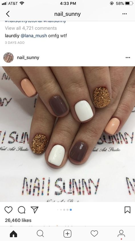 Nail it 💅🏽  #thanksgivingnails Thanksgiving nails