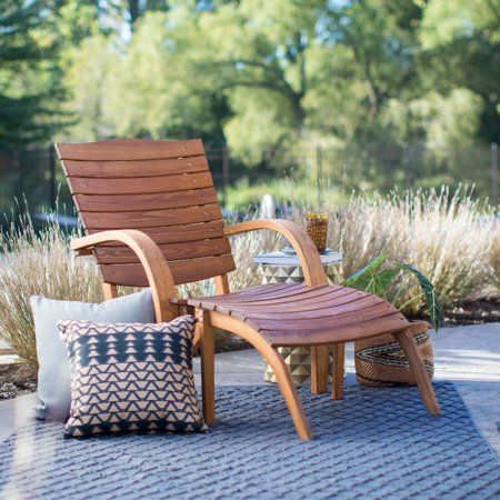 Belham Living Bryson Curved Adirondack Chair Walmart Com Lounge Chair Outdoor Adirondack Chair Outdoor Chairs