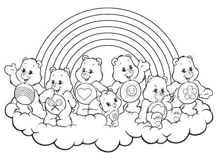 Pin By Christy Huffman On Care Bears Bear Coloring Pages Coloring Pages Cute Coloring Pages