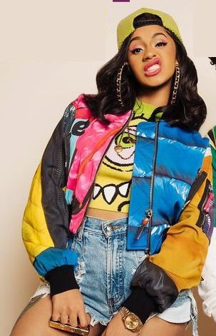 Cardi B In Finesse 90s Party Outfit Party Outfits For Women 90s Theme Party Outfit
