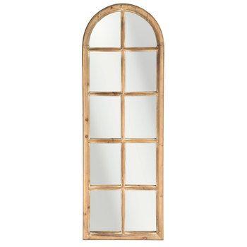 Brown Arched Window Pane Mirror 50 Hobby Lobby On Sale Window