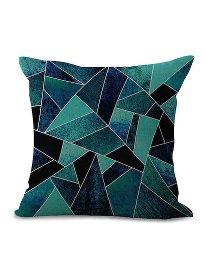 Geometric Throw Pillow Cover Mosaic