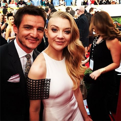 Natalie-Dormer-and-Pedro-Pascal Game of Thrones #GameofThrones #GoT #Fashion