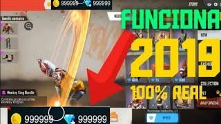 Hack free fire diamantes 2019