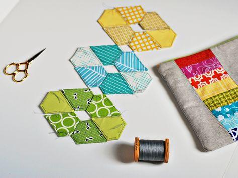 bijou lovely: english paper piecing. Interesting pattern