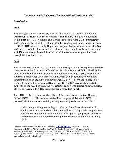 aliens-status-during-appeal-of-i485 by BigJoe5 via Slideshare - employment verification form