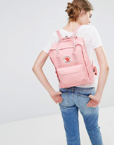 Image 3 ofFjallraven Classic Kanken In Pastel Pink