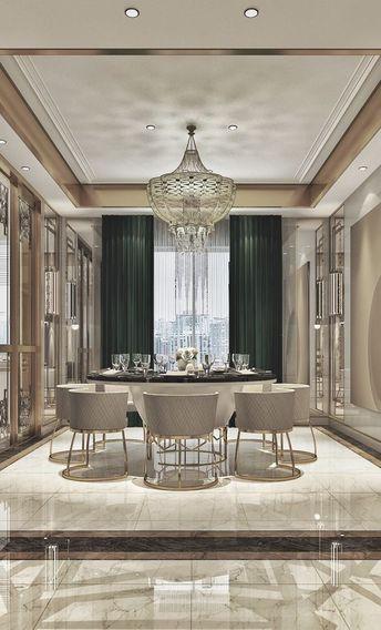 60 Modern Dining Room Design Ideas Luxury Rooms Luxury Dining