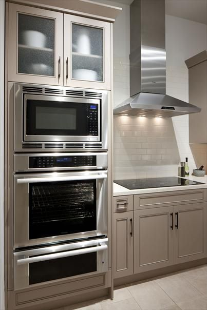 Image Result For Double Wall Oven With Microwave On Top Wall