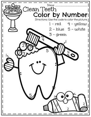Preschool Dental Health | Dental health month, Dental health ...