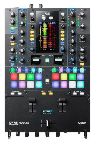 Rane Seventytwo 2 Deck Performance Mixer With Touch Screen Dj Setup Dj Packages Dj Gear