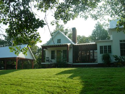 moser design cottage of the year - back of house.   i love house's