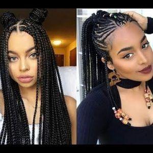 Cute African Hair Braids 2018 Gallery American Hairstyles Update African Hair Braiding Cornrow Styles 2018 Hair Styles Cornrow Hairstyles African Hairstyles